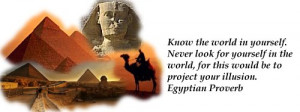Egyptian Quotes -