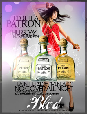 Tequila Patron Party Image