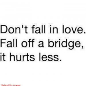 Good Advice In Love Problems Funny Cute Quote Picture