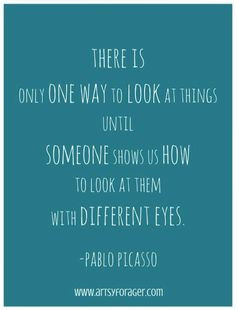 picasso quotes soo important to promote inclusion inside and outside