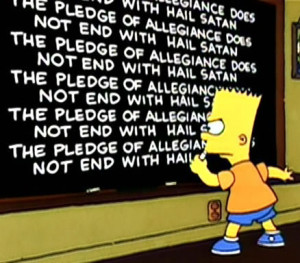 Every Bart Simpson Chalkboard Quote To Date
