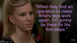 Brittany Quotes - glee Photo
