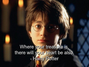 Harry potter quotes sayings wise treasure quote positive