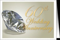 60th Wedding Anniversary card - Product #155700