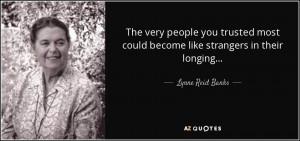 Lynne Reid Banks Quotes