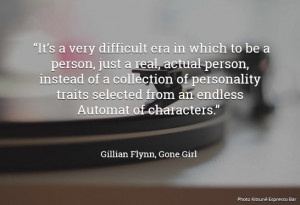 Gone Girl by Gillian Flynn Quote