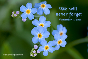 Sayings, Quotes: We will never forget