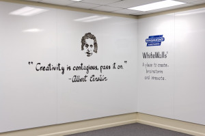 "Creativity is contagious, pass it on."" – Albert Einstein"