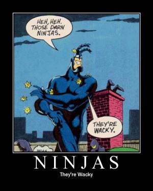 TICK vs NINJAS by overkillfl