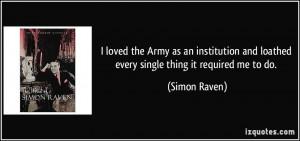 More Simon Raven Quotes