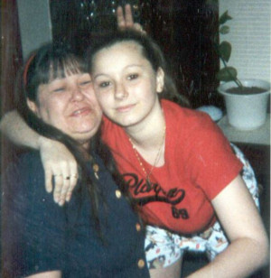 ... with her daughter Amanda Berry before she vanished in 2003, aged 16