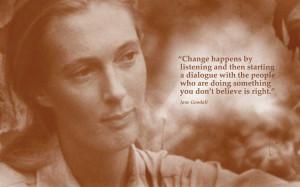 Jane Goodall Quotes Asimov jane goodall