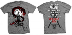 Ranger Up Samurai Bother No One T-Shirt