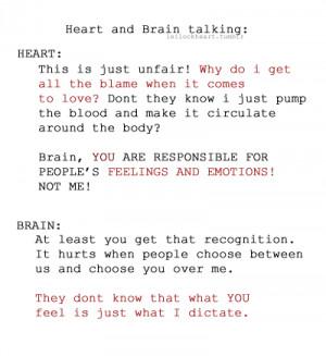 Heart And Brain Talking