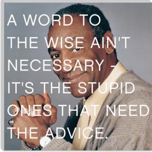 Bill Cosby Quote Canvas Art Print