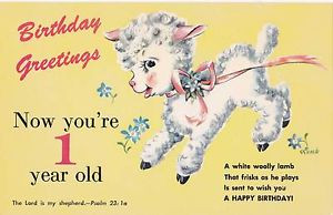 ... -Happy-Birthday-One-Year-Old-Postcard-w-Bible-Quote-Psalm-23-1-LAMB