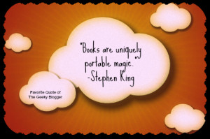 Favorite Book or Reading Quotes (Tuesday Fun): Stephen King