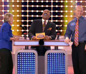 clips from Steve Harvey`s run on Family Feud. They are HILARIOUS