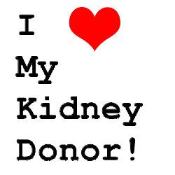 Kidney Donor Sayings