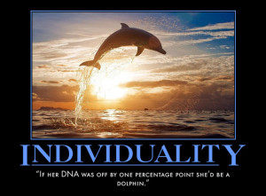 House Quote Motivational Poster Individuality | eMedCert