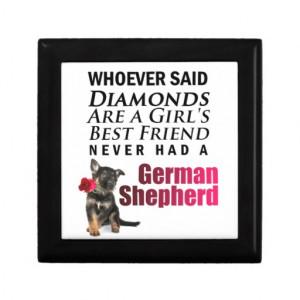 Girl's Best Friend - German Shepherd Gift Box