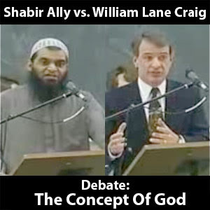 William Lane Craig vs Shabir Ally - The Concept Of God In Islam and ...