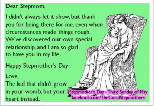 card to send to your Stepmom! Stepmother's Day is the Third Sunday ...