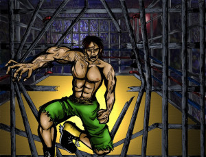 cage fighting image cage fighting pictures bloody pics sick layouts at ...