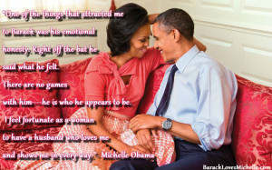 The Obama's Quotes on Love, Marriage and Relationships