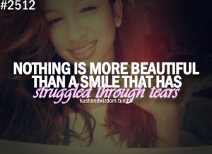 Smile Struggled Through Tears Picture & Image | tumblr