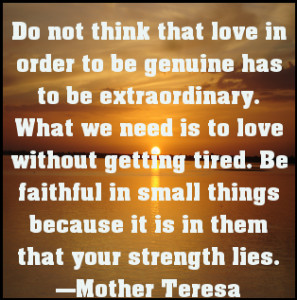 Mother Teresa's 10 Most Inspiring Quotes