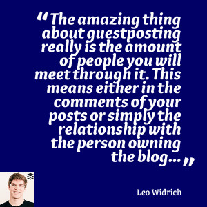 ... Defined by the Smartest Marketers: 10 Best Guest Blogging Quotes