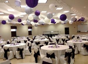 decorating ideas for wedding reception hall