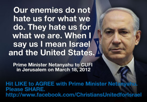 Join 2 million Christians in standing with Israel