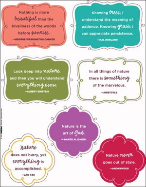 Free Nature Quotes from Creating Keepsakes