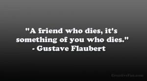 Sad Quotes About Death Of A Friend Friend death q... sad quotes