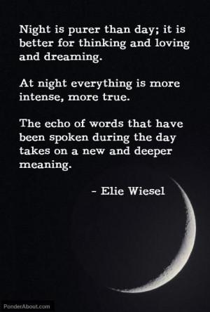 night elie wiesel quote