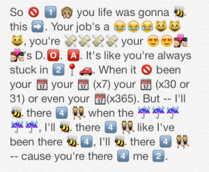 Quotes About Love With Emojis