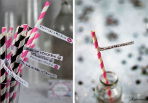 cute straw sayings would be cute for bachelorette party or new year s