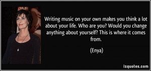 More Enya Quotes
