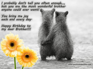 ... Brother,elder brother birthday cards, greetings,brother ecards,little
