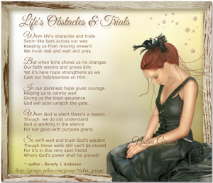 Daily Inspiration - Life's Obstacles and Trials