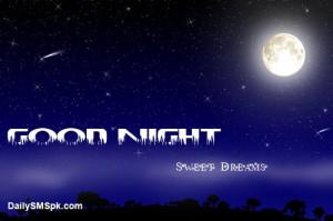 BLUE_NIGHT-Moon good night sms in urdu facebook Quotes Status Images ...