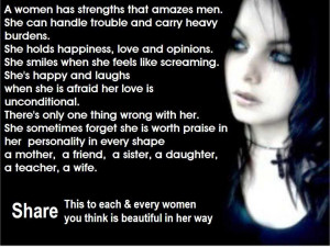"Quotes for women : ""A strong women stands up for herself. A stronger ..."