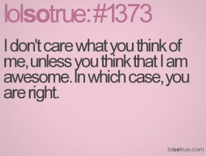 Dont Care Quotes Funny