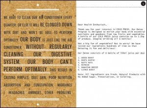 So basically, Detox is a cleansing system for our body . It is a ...