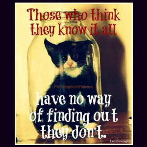 Images those who think they know it all picture quotes image sayings