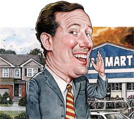 HOT DOCUMENT: Rick Santorum Robo-Slimes McCain