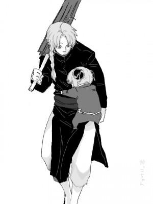 Gintama Kagura & Kamui