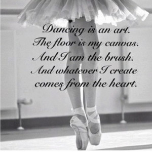 dance #quote #art #pointe #photography #ballet #love #life #iphotocap ...